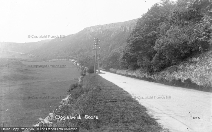Photo of Giggleswick, Scars c.1900
