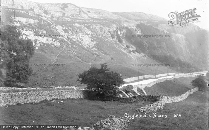 Photo of Giggleswick, Scars c.1900