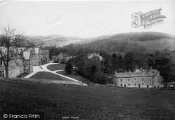 Giggleswick, School And Masters Residence 1903