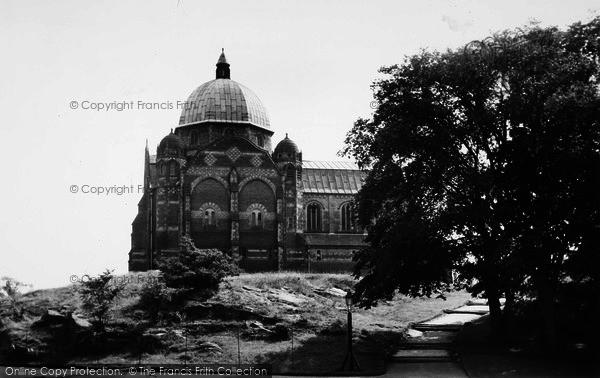 Photo of Giggleswick, School Chapel c.1955