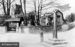 Giggleswick, St Alkelda's Church c.1900