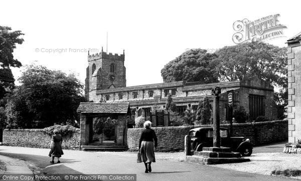Photo of Giggleswick, St Alkelda's Church c1955
