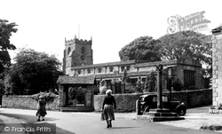 Giggleswick, St Alkelda's Church c.1955