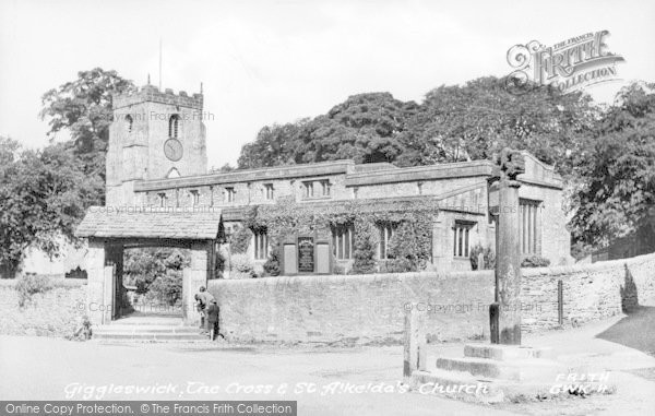 Photo of Giggleswick, The Church c.1955