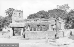 Giggleswick, The Church c.1955