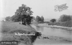 Giggleswick, The Ribble c.1900