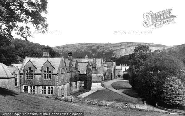 Photo of Giggleswick, The School c.1955