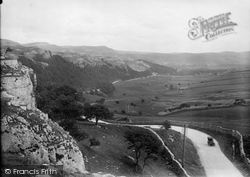 Giggleswick, The View From Giggleswick Scar 1921