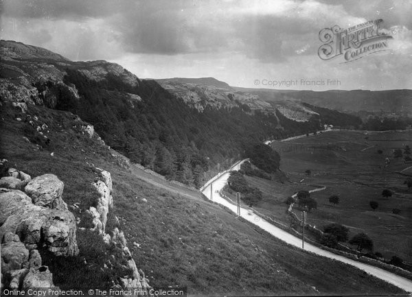 Photo of Giggleswick, The View From Giggleswick Scar 1921