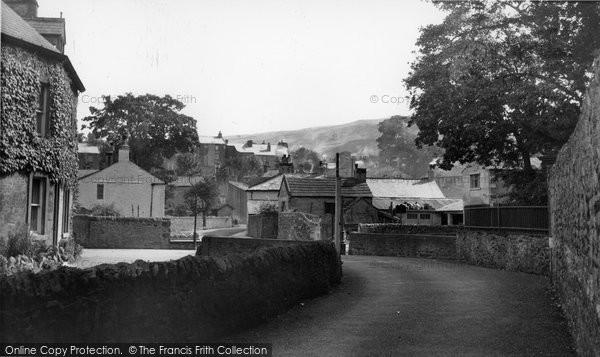 Photo of Giggleswick, The Village c.1955