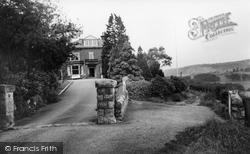 Giggleswick, Woodlands Hotel c.1955