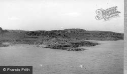 Gigha, Gigulum Cottages From The Pier c.1955, Isle Of Gigha