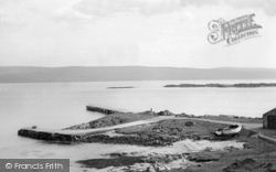Gigha, The Jetty Looking To Kintyre c.1955