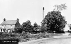 Gilberdyke, Post Office Corner c.1960