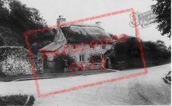 Gileston, Thatched Cottage c.1960