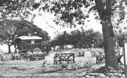 Gileston, White Star Boys Camp, Uncle Arthur's Caravan c.1950