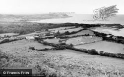 Gilfachrheda, General View Of New Quay c.1960