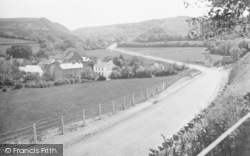 Gilfachrheda, New Road From New Quay c.1933