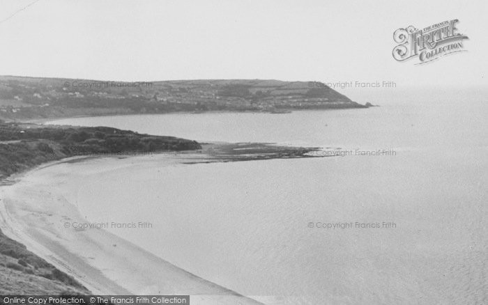 Photo of Gilfachrheda, The Bay, Cei Bach c.1960
