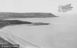 Gilfachrheda, The Bay, Cei Bach c.1960