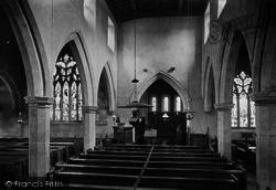 Church, Interior 1913, Gilling West