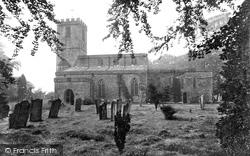 St Agatha's Church 1913, Gilling West