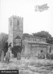 St Agatha's Church c.1935, Gilling West