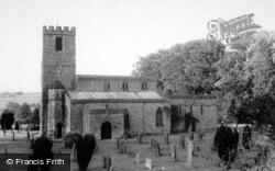 St Agatha's Church c.1960, Gilling West
