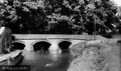 The Bridge c.1960, Gilling West