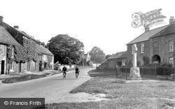 The War Memorial c.1935, Gilling West