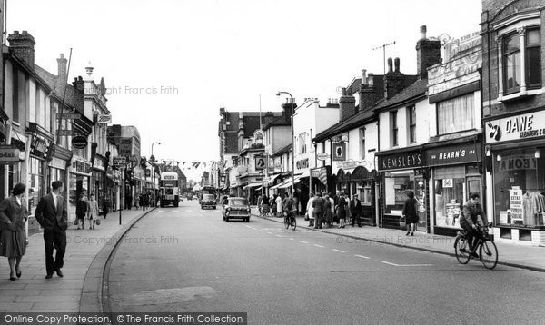 Photo of Gillingham, High Street c1960, ref. G144033
