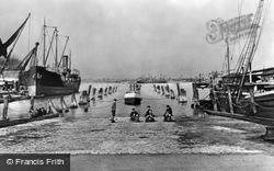 Gillingham, Riverside Docks c.1900