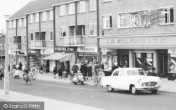 Gillingham, Shops, Twydall Green c.1960