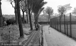 Gillingham, The Miniature Railway c.1955
