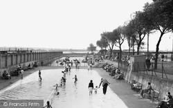 Gillingham, The Paddling Pool c.1955