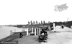 Gillingham, The Promenade c.1955