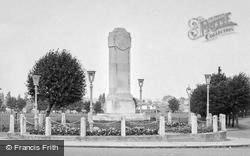 Gillingham, The War Memorial c.1960