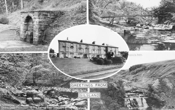 Photo of Gilsland, Composite c.1950