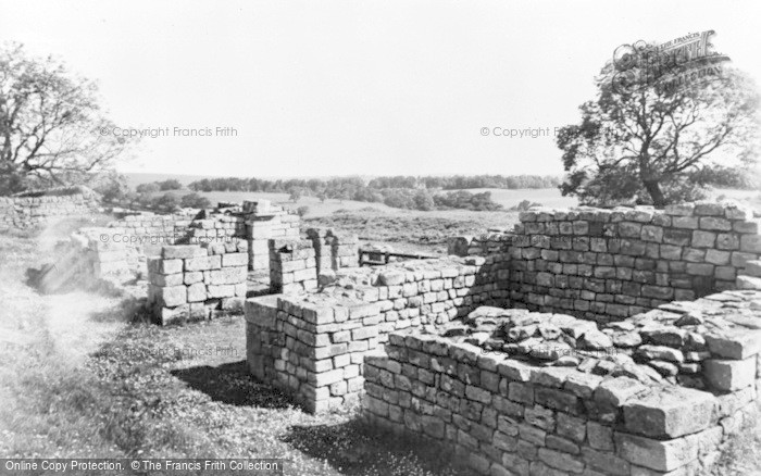 Photo of Gilsland, East Gate, Birdoswald c.1955