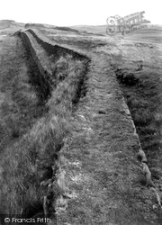 Gilsland, Roman Wall 1924
