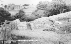 Gilsland, The Kings Stables, Roman Wall c.1955