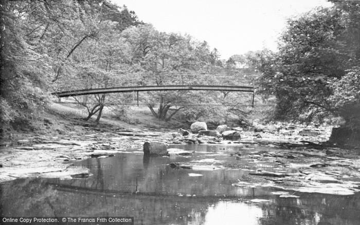 Photo of Gilsland, The Popping Stone Bridge c.1950