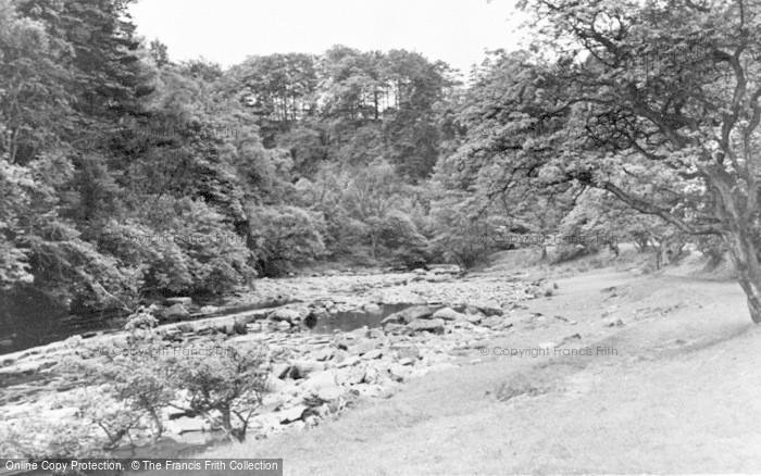 Photo of Gilsland, The River Irthing c.1950
