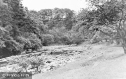 Gilsland, The River Irthing c.1950
