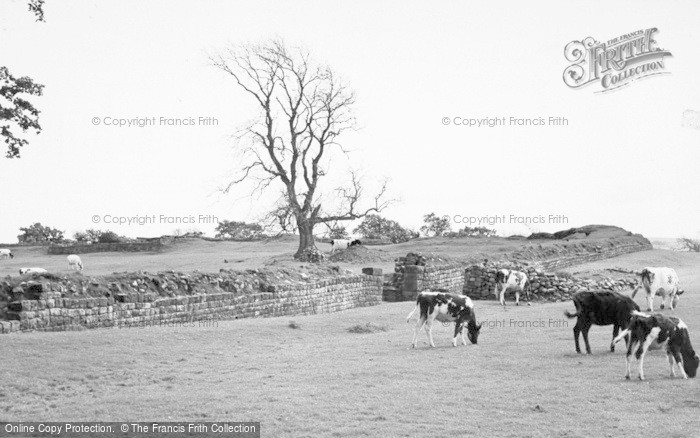 Photo of Gilsland, The Roman Wall, Birdoswald c.1950