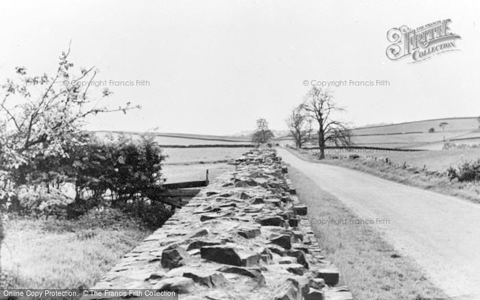 Photo of Gilsland, The Roman Wall c.1950