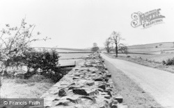 Gilsland, The Roman Wall c.1950