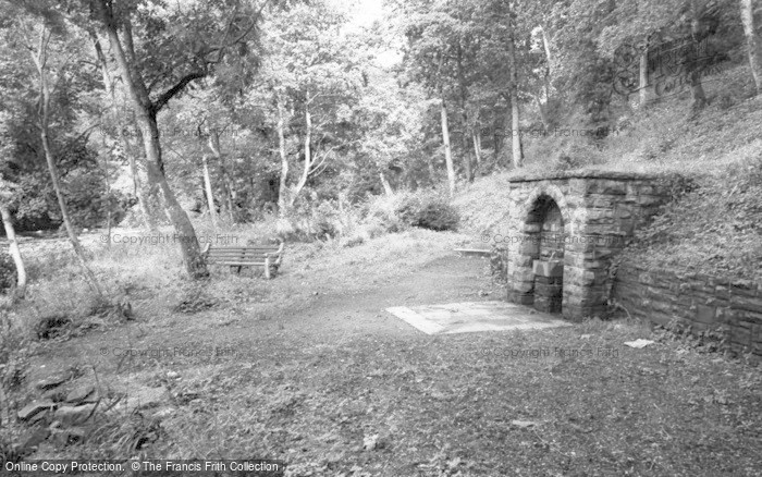 Photo of Gilsland, The Spa Well c.1955