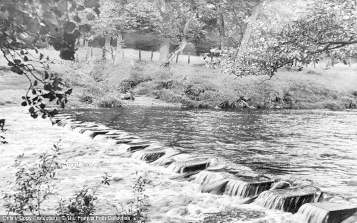 Photo of Gilsland, The Stepping Stones c.1950