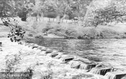 Gilsland, The Stepping Stones c.1950